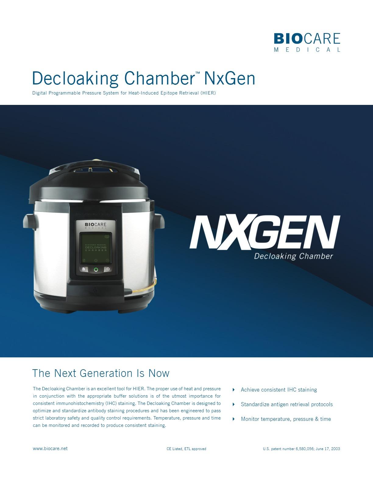 Decloaking Chamber™ NxGen