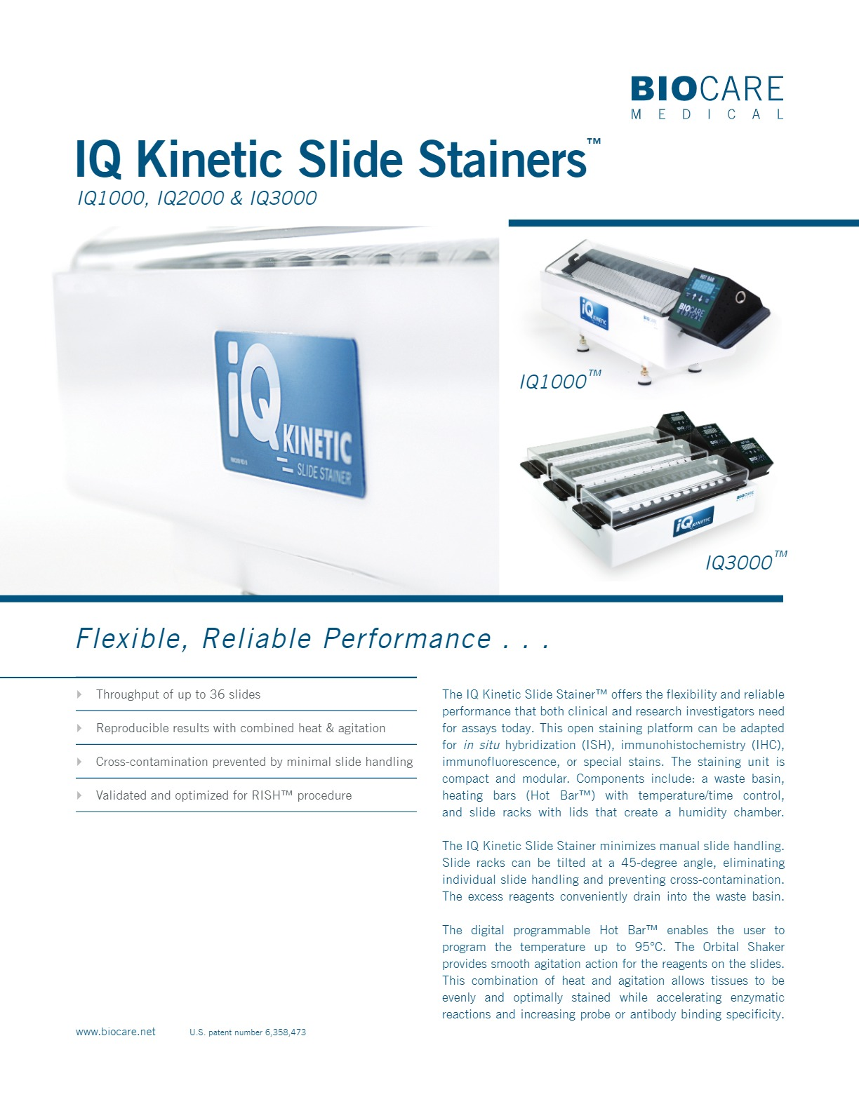 IQ Kinetic Slide Stainers™